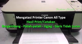 Tips mengatasi masalah printer cannon all type