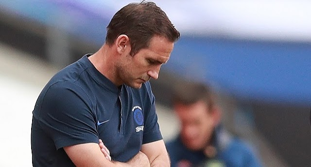 Chelsea's Management Sacks Head Coach, Frank Lampard