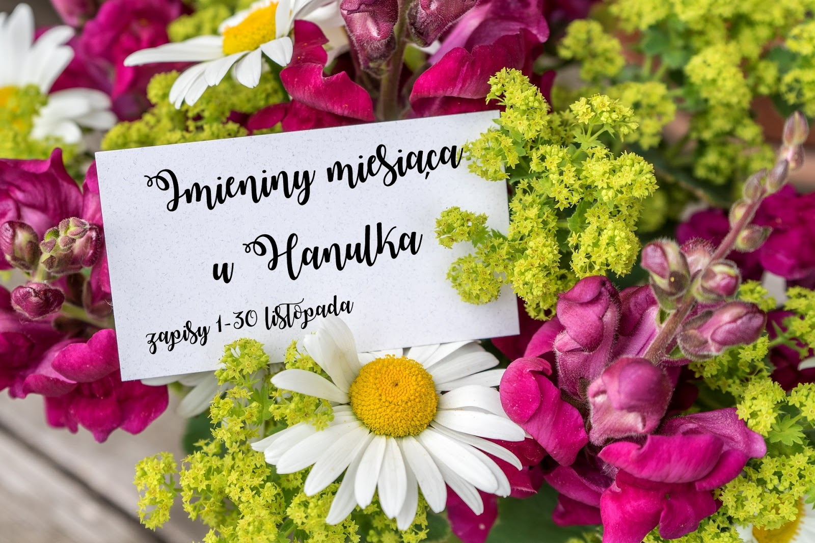 Imieniny Miesiąca - całiroczna zabawa u Hanulka :)