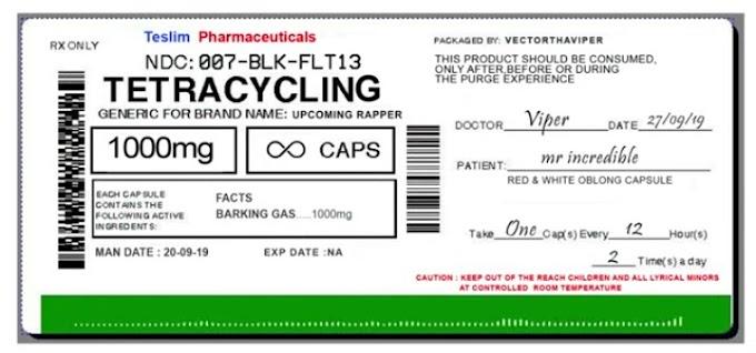 Vector – Tetracycline (MI Abaga Diss)