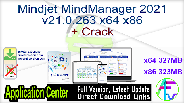 Mindjet MindManager 2021 v21.0.263 x64 x86 + Crack