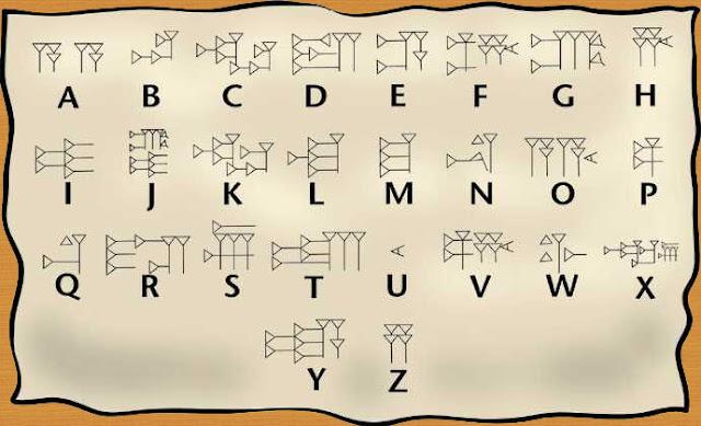 Alfabeto dos Sumérios-1