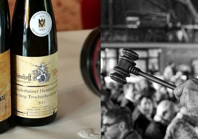Riesling Trockenbeerenauslese aus dem Weingut Dönnhoff bei der VDP Weinversteigerung.