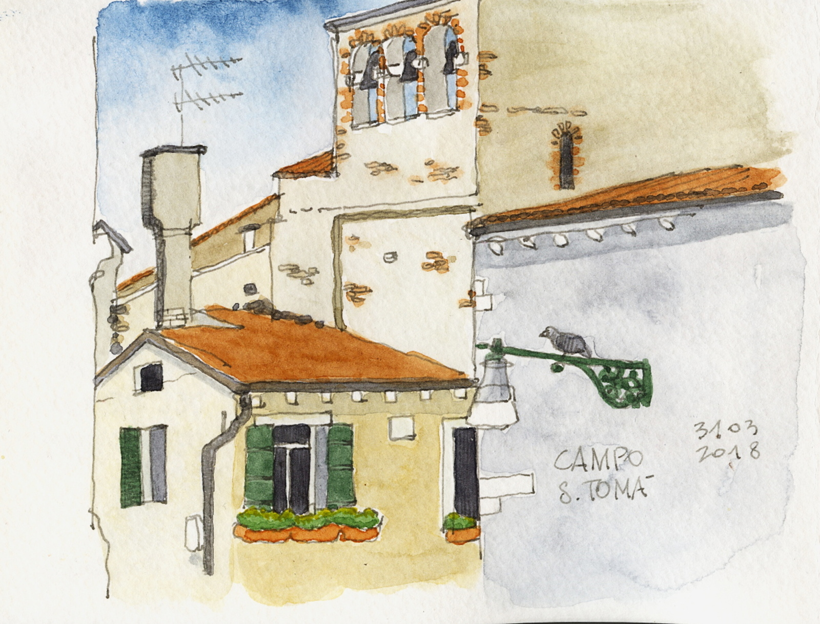 Easter in Venice with a four-year-old | Urban Sketchers