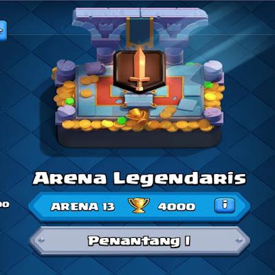 Berbagai arena dalam clash royale
