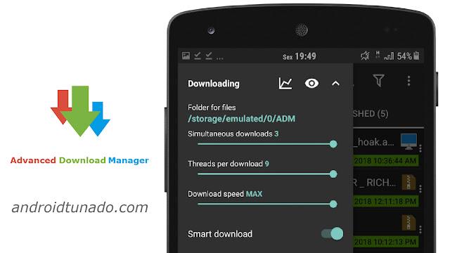 ADM PRO APK v6 4 0 - Acelere seus Downloads - Android Tunado