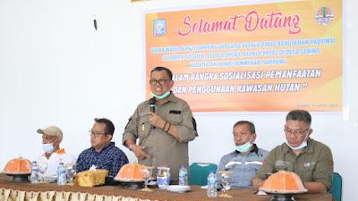 Sosialisasi Pemanfaatan Kawasan Hutan, Wabup Soppeng: Hutan Rusak Berpotensi Timbulkan Bencana
