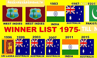 ODI Cricket champions @ Desh Rakshak News