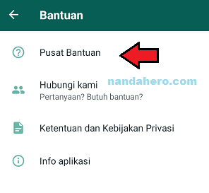 cara membuat whatsapp dark mode
