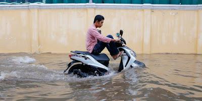 3 Cara Jitu Membedakan Sepada Motor Pernah Terendam Banjir Atau Tidak