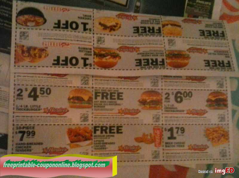 photograph regarding Hardee's Printable Coupons named Printable Discount coupons 2019: Hardees Discount codes