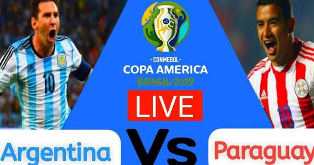 نتيجه مباراة الأرجنتين وباراجواي بث مباشر اليوم الخميس 20-06-2019 كوبا امريكا