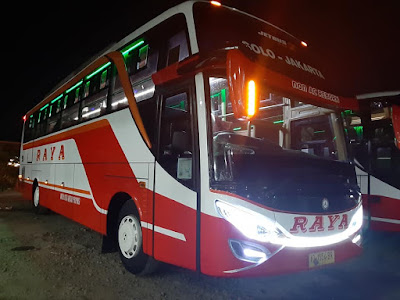 Foto Bus Raya Non AC Reborn AD 1554 BR