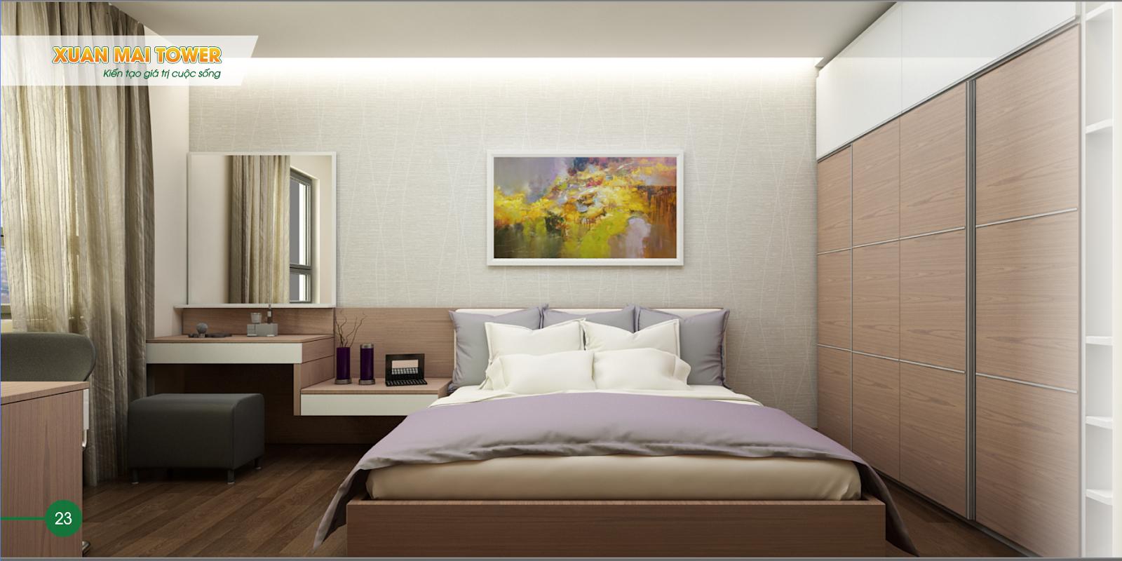 Phòng ngủ Xuân Mai Tower Thanh Hoá