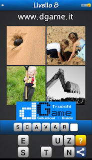 PACCHETTO 5 Soluzioni Trova la Parola - Foto Quiz con Immagini e Parole soluzione livello 8