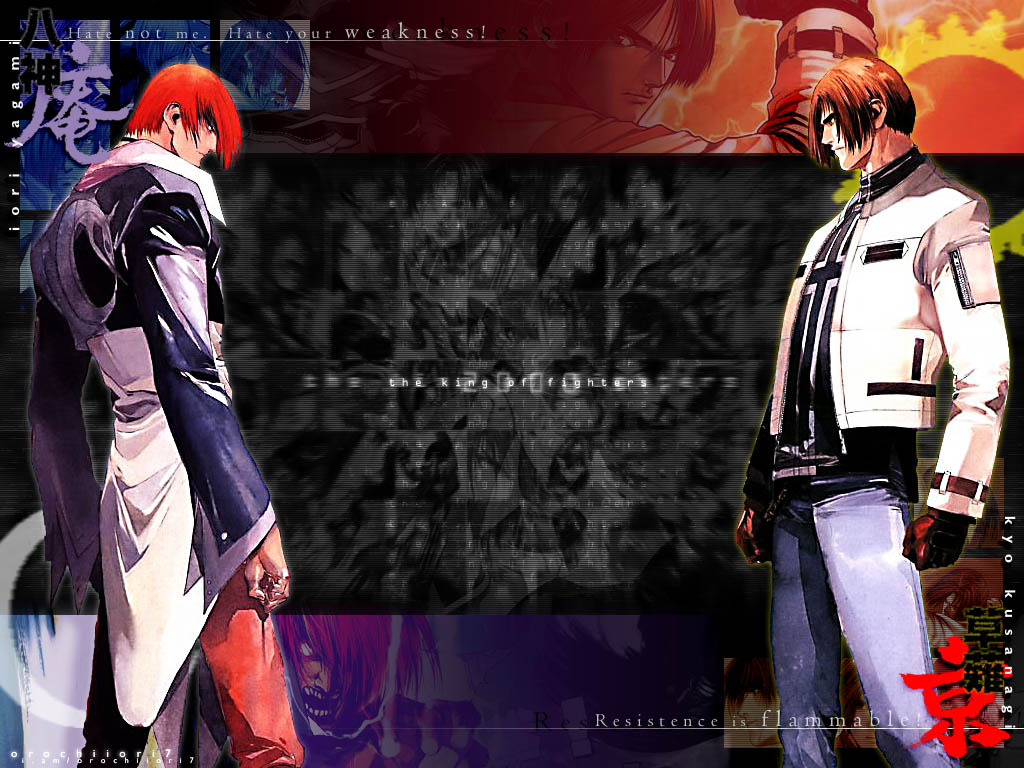 King Of Fighters Kyo Wallpaper