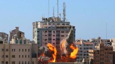 Berita Terkini Palestina : Israel Bombardir Wilayah Gaza