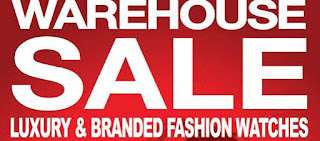 Luxury & Branded Fashion Watches Warehouse Sale 2016