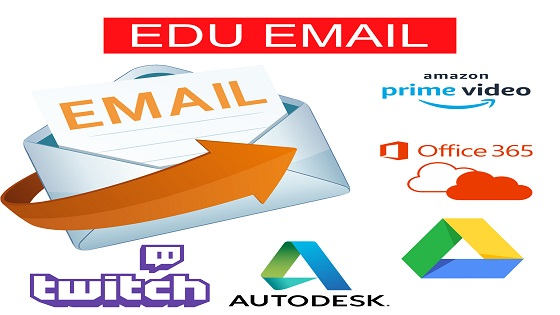Custom Edu Email Amazon Prime,Twitch Prime,Office 365