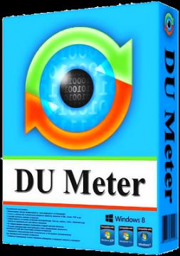 DU Meter 7.15 تحميل كامل ✅ مع كراك, سيريال, كيجن - لقياس سرعة النت