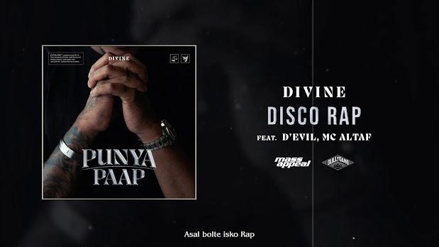 DIVINE Ft. D'Evil, MC Altaf - Disco Rap Song Lyrics | GullyGang |Mass Appeal India| NewSong 2020 Lyrics Planet