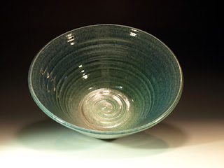 Pottery Serving bowl by Lori Buff