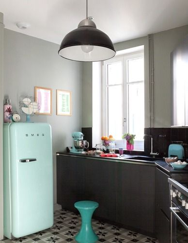 accessoires cuisine bleu. Black Bedroom Furniture Sets. Home Design Ideas