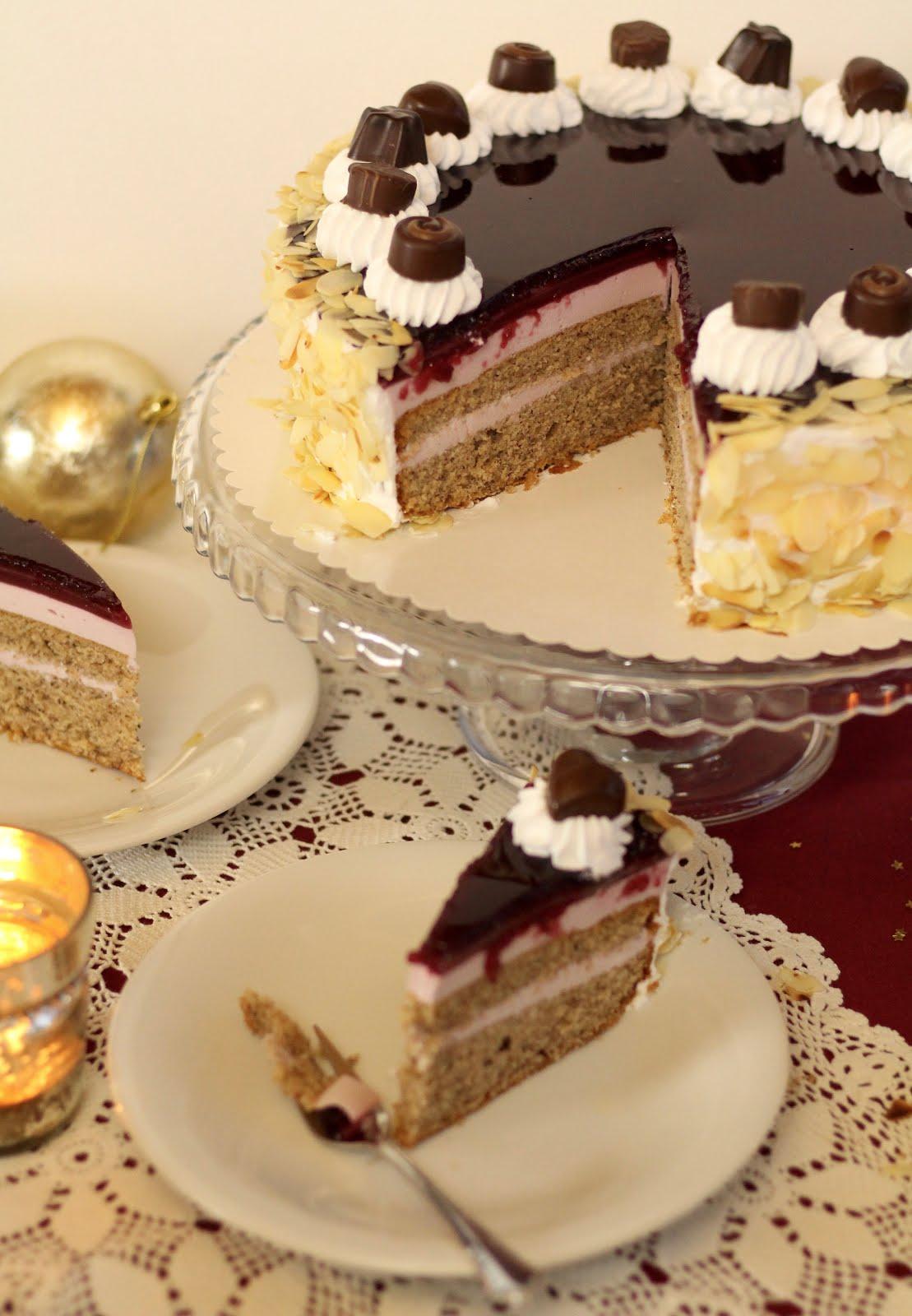 Glühweincreme-Torte - Rezept und Video von Sugarprincess | SCCC 2019: Türchen Nr. 15 | Gewinnspiel