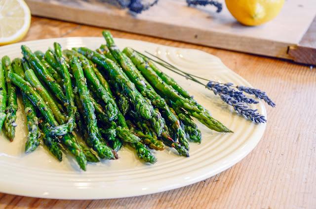 Lavender Lemon Asparagus Recipe