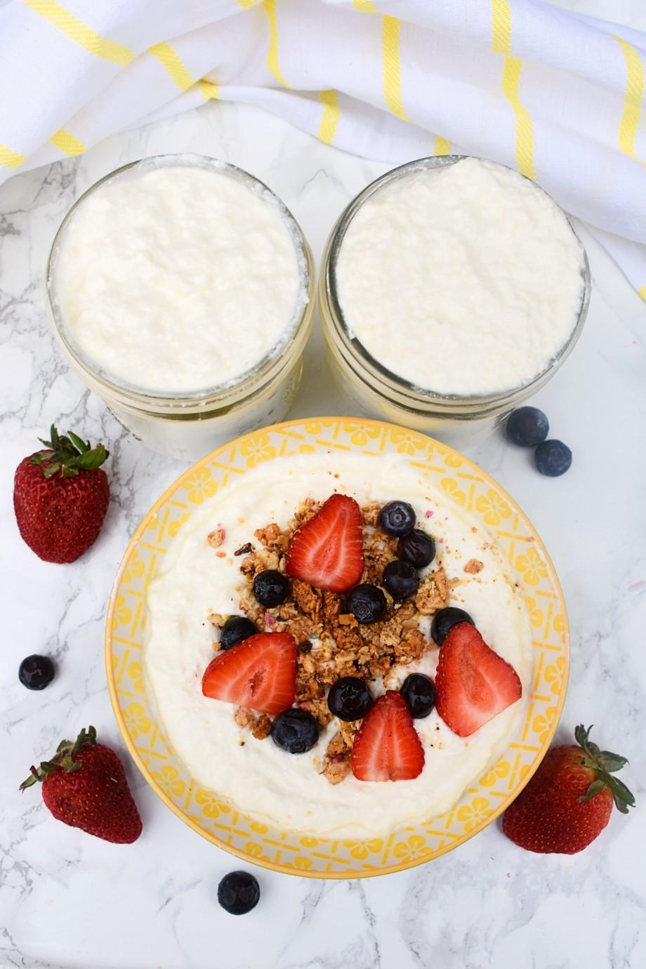 Stovetop Homemade Yogurt