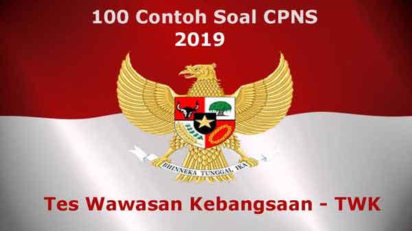 contoh soal twk cpns 2019