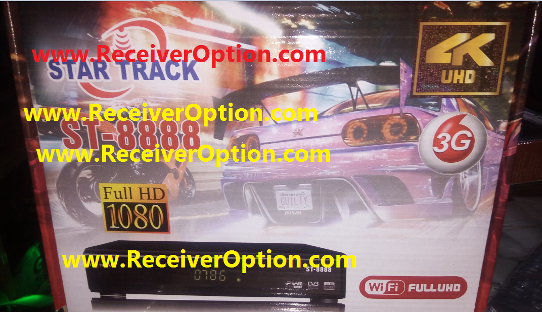 STAR TRACK ST-8888 HD RECEIVER CLINE OK NEW SOFTWARE - HOW TO ENTER