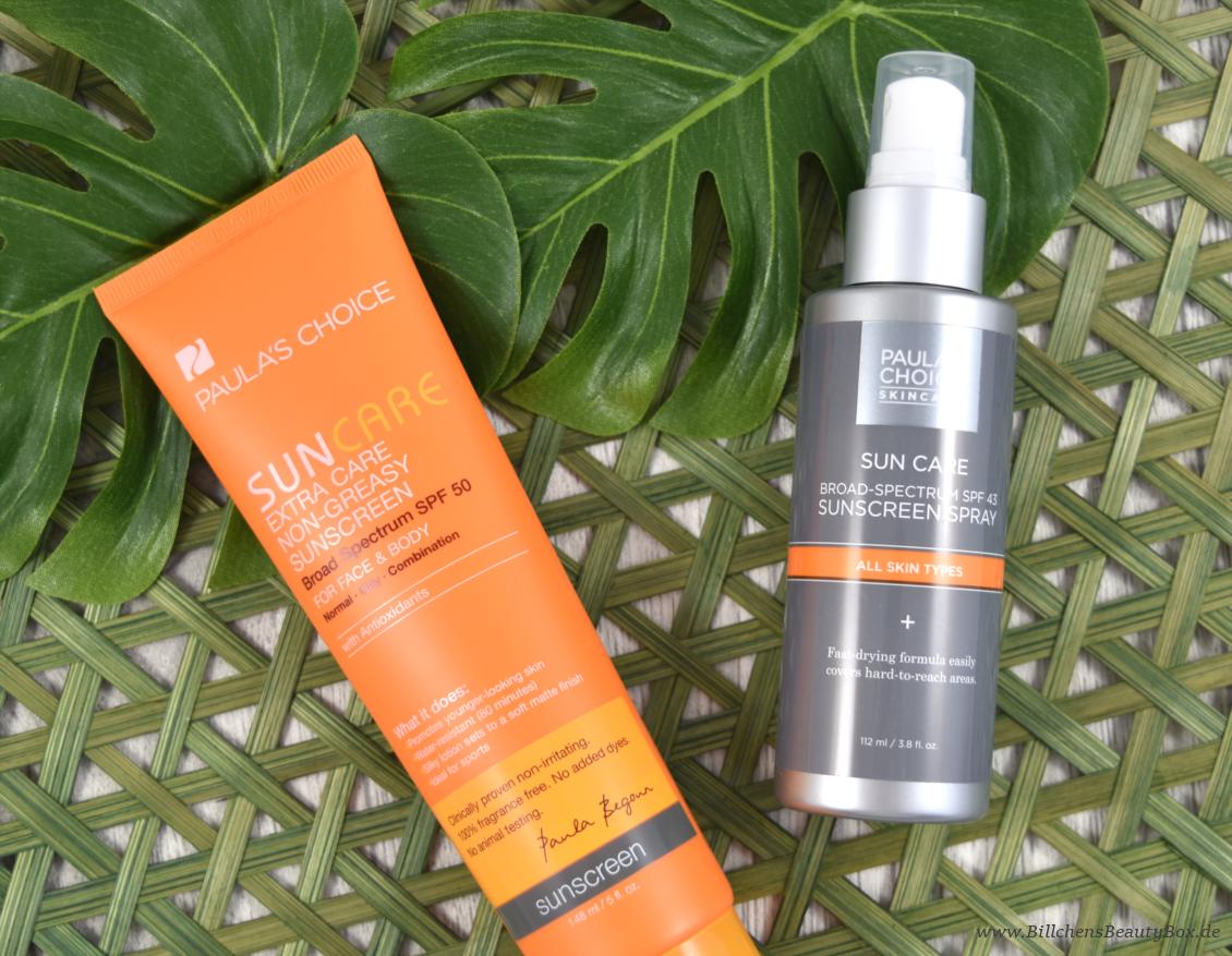 Paula's Choice Sonnenschutz - Extra Care Non-Greasy Sunscreen SPF 50 - Sunscreen Spray SPF 43