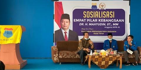 Gandeng Anggota DPD-RI, PMII Kutai Timur Gelar Sosialisasi Empat Pilar Kebangsaan
