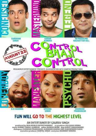 Control Bhaji Control 2014 HDRip 450MB Punjabi Movie 480p Watch online Free Download bolly4u