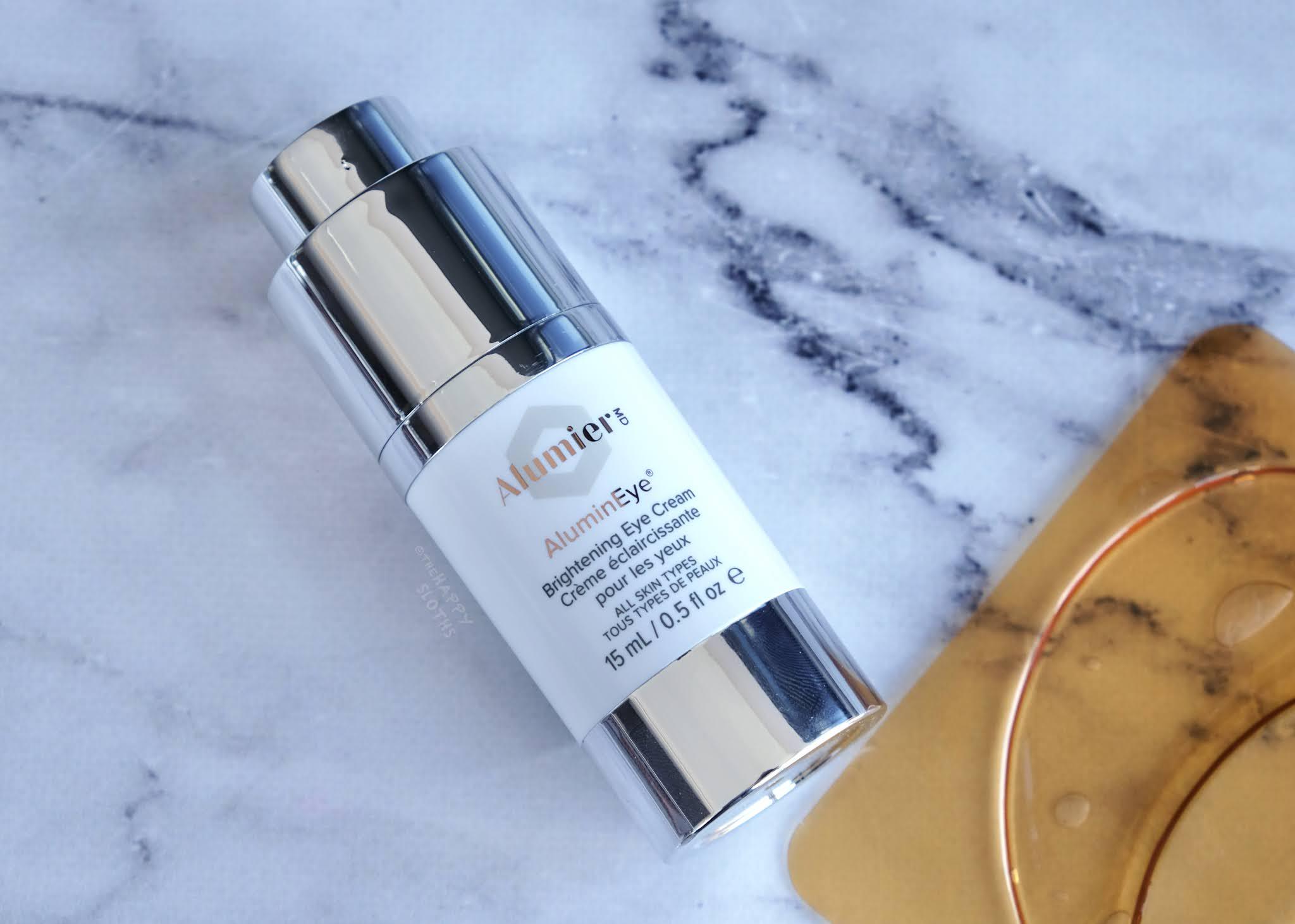 Alumier MD | AluminEye Brightening Eye Cream: Review