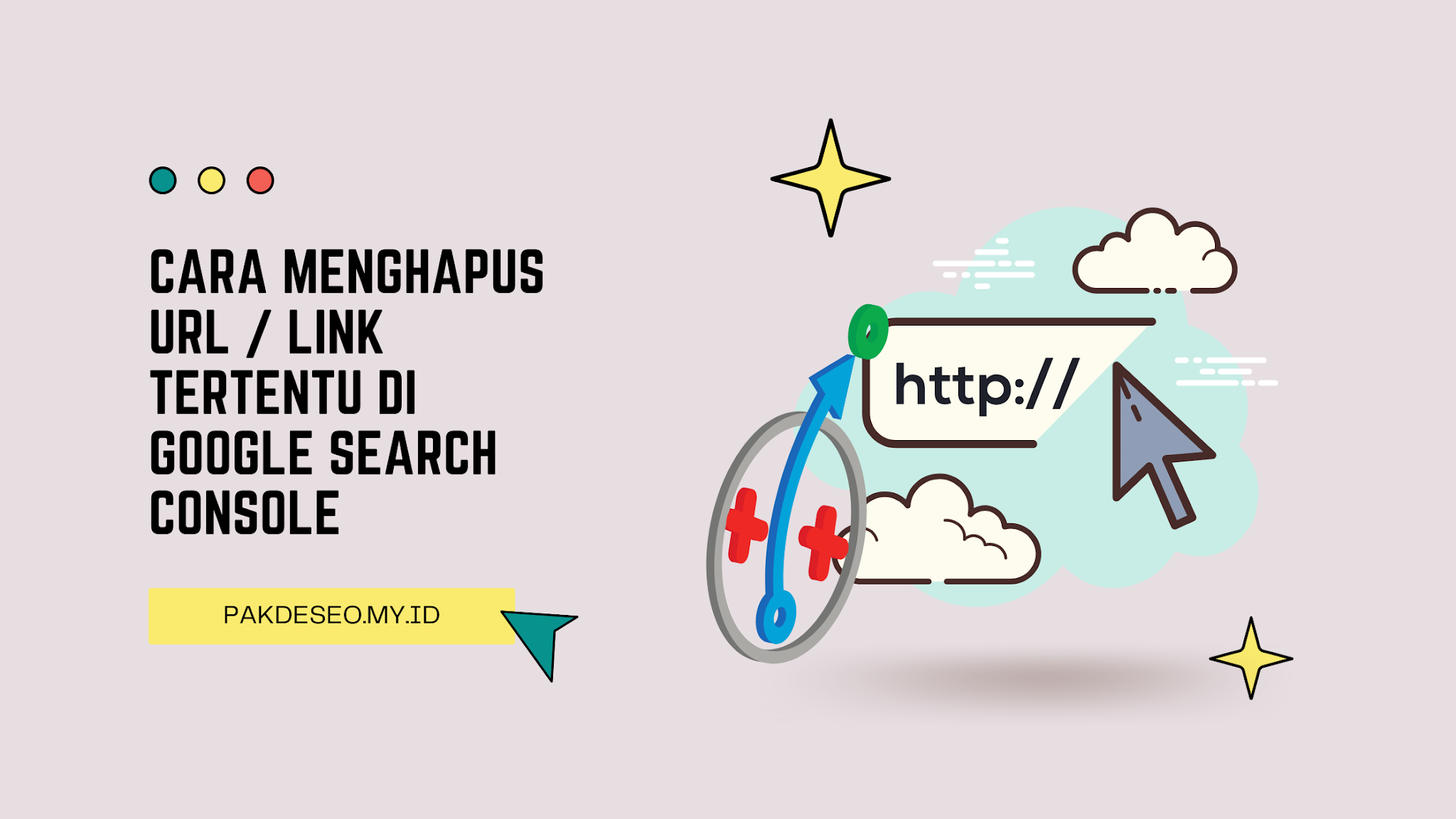 Cara Menghapus URL / Link Tertentu di Google Search Console