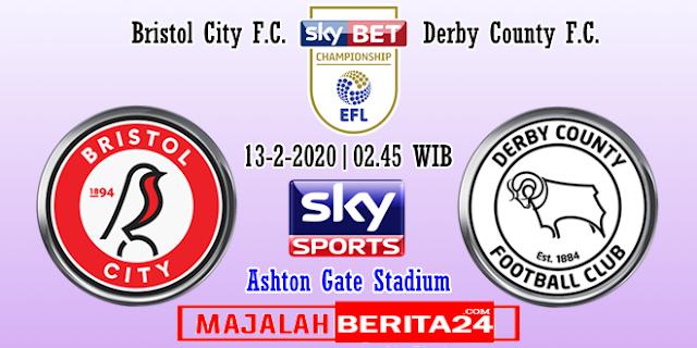 Prediksi Bristol City vs Derby County
