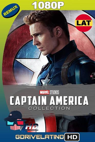 Capitán América Colección (2011-2016) BDRemux 1080p Latino-Ingles MKV