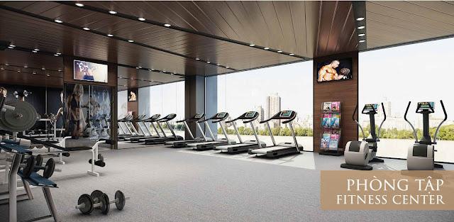 Phòng tập Gym chung cư Roman