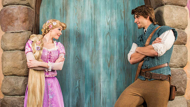 Onde encontrar a princesa Rapunzel nos parques da Disney