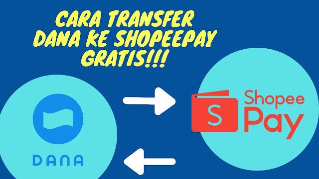 Transfer dana ke shopeepay gratis