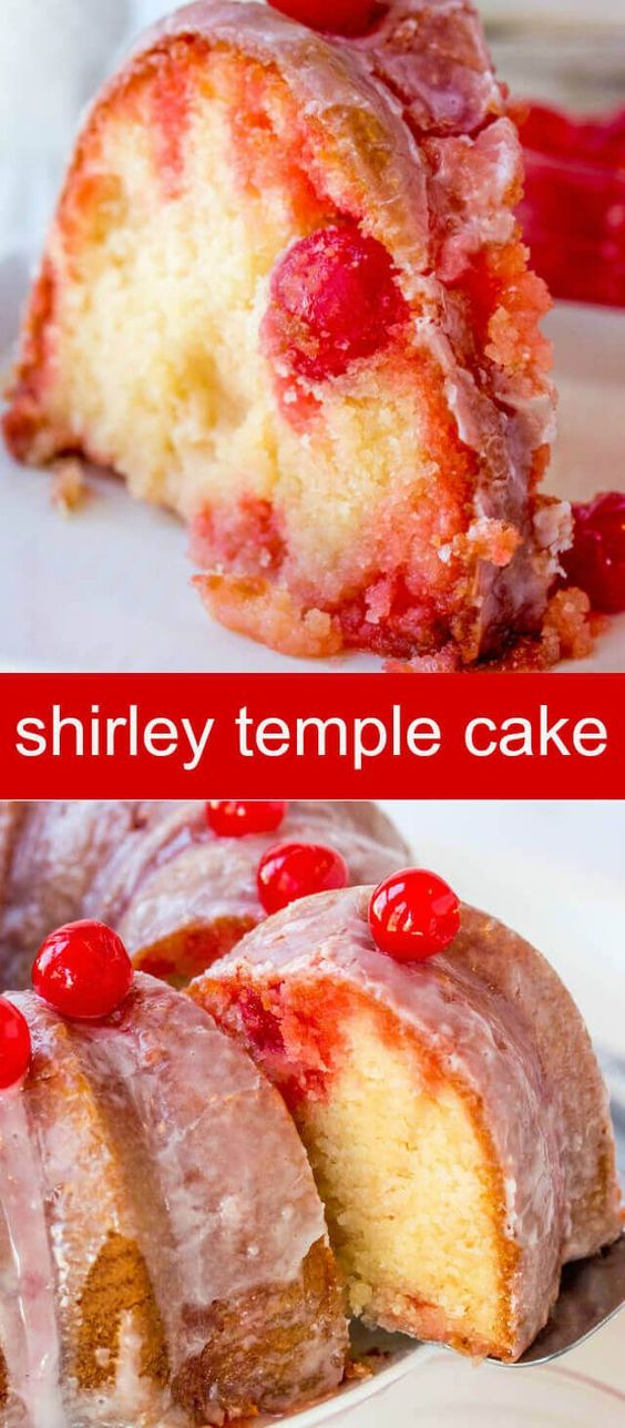 The Amazing Shirley Temple Cake