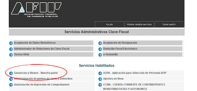 AFIP ya informa que conoce de cada contribuyente