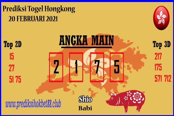 Bocoran Hongkong 20 Februari 2021