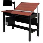 Drafting Table Computer Desk Combo