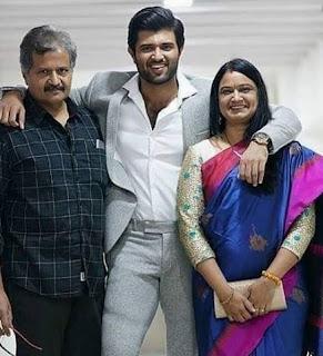 Anand Devarakonda Family Wife Parents children's Marriage Photos