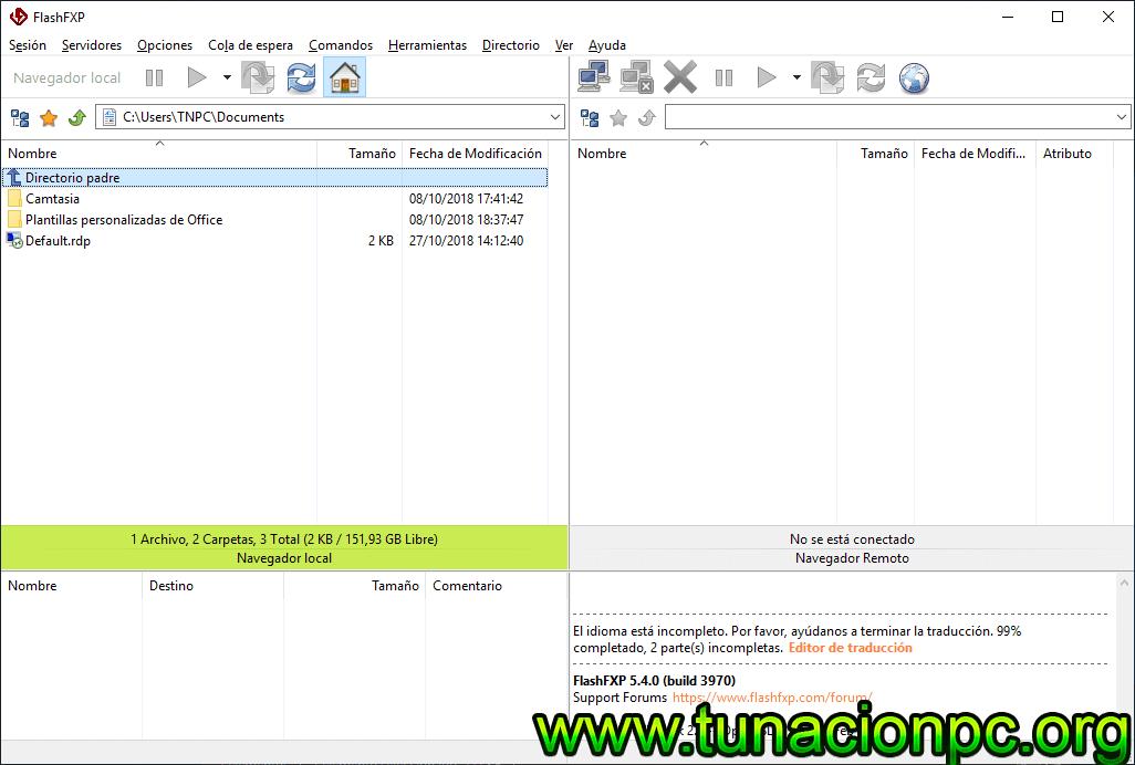 Descargar FlashFXP