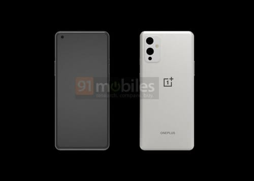 First look at the upcoming OnePlus 9 phone