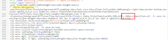 menu html n light pro